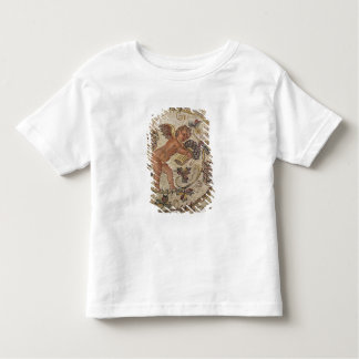 A cupid picking grapes, fragment of pavement toddler t-shirt