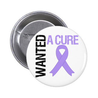 A Cure de general Cancer Wanted Pin Redondo 5 Cm