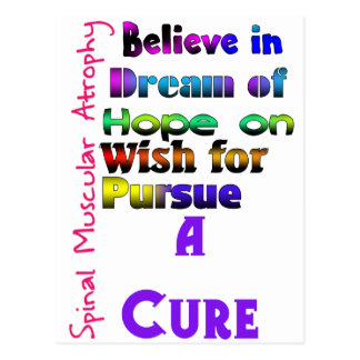A Cure for SMA Postcard
