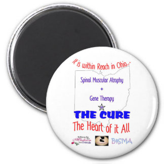 A Cure is within Reach 2 Inch Round Magnet