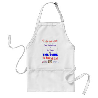 A Cure is within Reach Adult Apron
