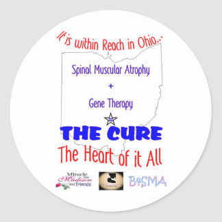 A Cure is within Reach Classic Round Sticker