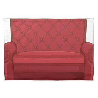 A cushion chair cloth placemat