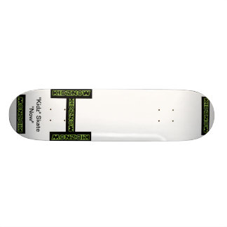 A Custom KIDZNOW Skate Board