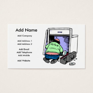 A Customizable Repairman Business/Profile Card