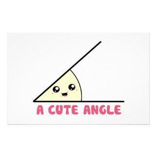 A Cute Acute Angle Stationery Paper