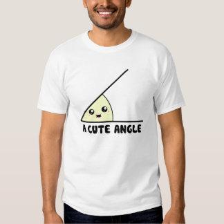 A Cute Acute Angle Tee Shirt