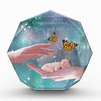 A cute baby congratulations award