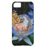 A cute baby lily butterfly bubble iPhone 5C cases