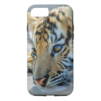 A cute baby tiger iPhone 7 case