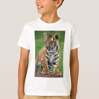 Tiger Cub T-Shirts & Shirt Designs | Zazzle Cute Siberian Tiger Shirt