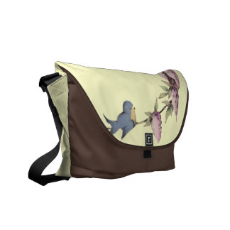 A Cute Birdhouse Messenger Bag