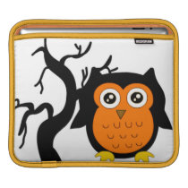 A Cute Brown Owl Sleeve For iPads