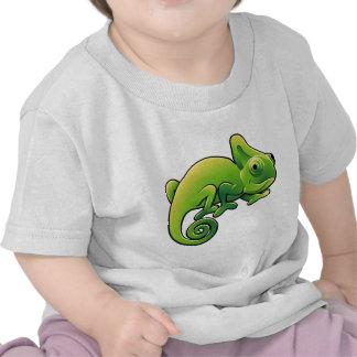 A cute chameleon lizard tshirts