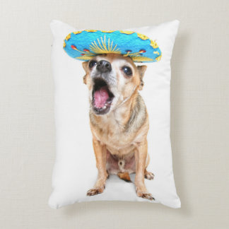 A Cute Chihuahua In A Halloween Costume Accent Pillow