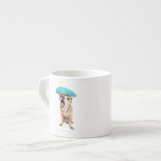 A Cute Chihuahua In A Halloween Costume 6 Oz Ceramic Espresso Cup