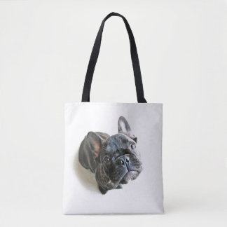 A Cute French Bulldog Puppy Tote Bag