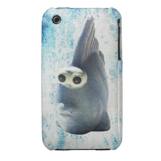 A Cute Funny Fish With Big Eyes iPhone 3 Case