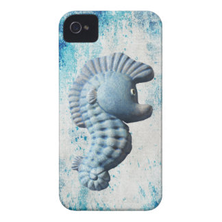A Cute Funny Whimsical Seahorse iPhone 4 Case