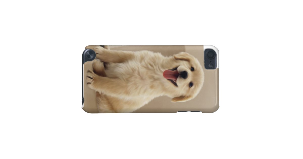 a cute golden Retriever Puppy iPod Cases iPod Touch (5th ...