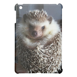 A cute hedgehog iPad mini cases