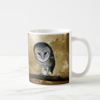A Cute little Barn Owl Fantasy Coffee Mug