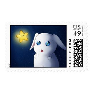 A Cute Puffy Kawai Bunny Rabbit Stamps