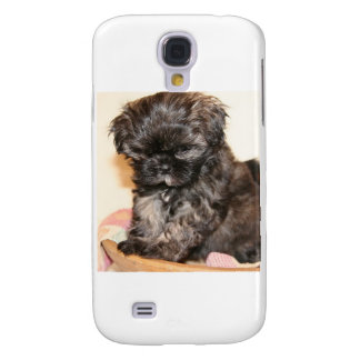 A Cute Shih Tzu Pup makes this product adorable Galaxy S4 Case