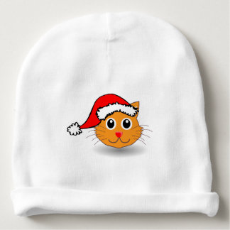 A cute small cat for Christmas - Baby Beanie