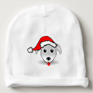 A cute small dog for Christmas - Baby Beanie