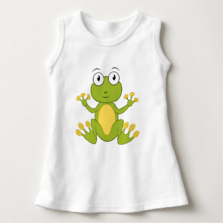 A cute small frog for baby - dress