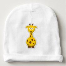 A cute small giraffe for baby - baby beanie