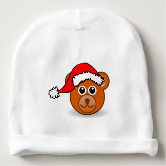 A cute small little bear for Christmas - Baby Beanie