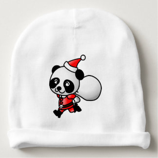 A cute small panda for Christmas - Baby Beanie