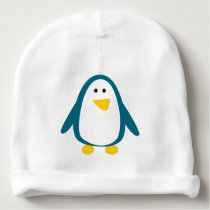A cute small penguin for baby - baby beanie