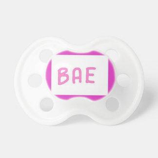 """A cute teen tumblr urban saying """"Bae"""" Pacifier"""
