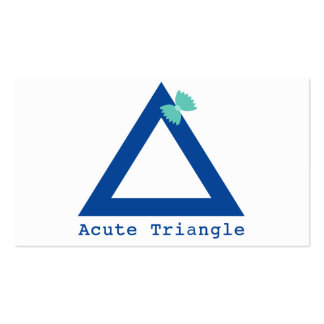 A Cute Triangle Business Cards