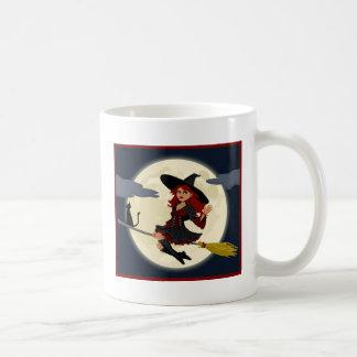 A Cute Witch Coffee Mugs