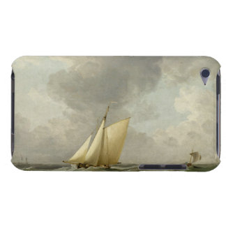A Cutter in a Strong Breeze (oil on copper) iPod Touch Cover