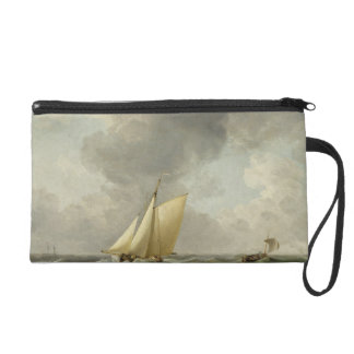 A Cutter in a Strong Breeze (oil on copper) Wristlet