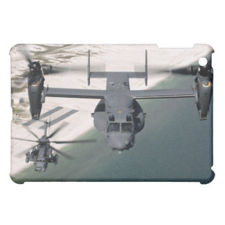 A CV-22 Osprey and an MH-53 Pave Low Cover For The iPad Mini