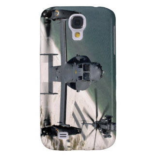 A CV-22 Osprey and an MH-53 Pave Low Galaxy S4 Cover
