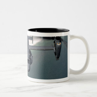 A CV-22 Osprey and an MH-53 Pave Low Two-Tone Coffee Mug