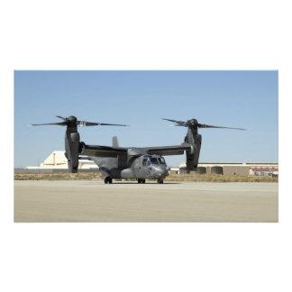 A CV-22 Osprey prepares for take-off Photo Print