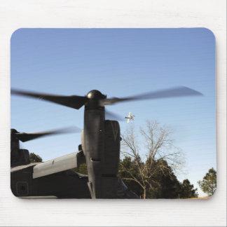 A CV-22 Osprey prepares to take off Mouse Pad