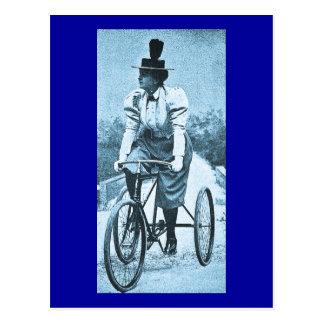 A Cycle Tour - Vintage Postcard