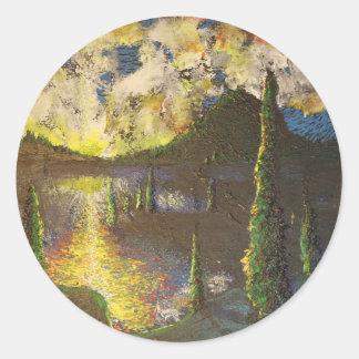 A Cypress Congregation Classic Round Sticker