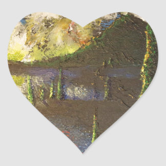 A Cypress Congregation Heart Sticker