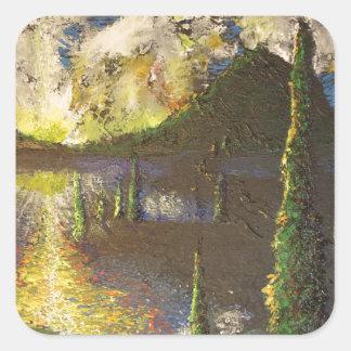 A Cypress Congregation Square Sticker