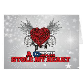 A Czech Stole my Heart Card